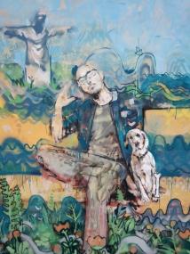 Detalle Mural Barrio Crisol - Cesar y Paco