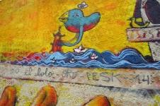 Detalle Mural Corral de Bustos