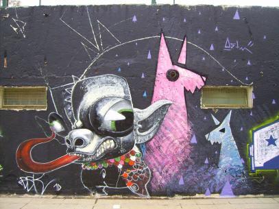 Perro Marioneta y Llamas