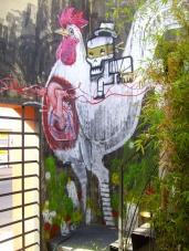 Gallos Corazones y Calacas