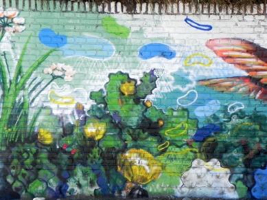 Detalle Cactus - Mural Costanera El Lolo y PESK