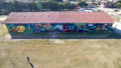 1er mural en Corralito - cara oeste