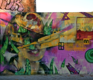 Mural en Poblenou - wallspot