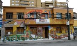 Mural colectivo - Fundación Liwenko