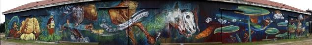 """""""Progreso"""" mural colectivo - Corralito"""