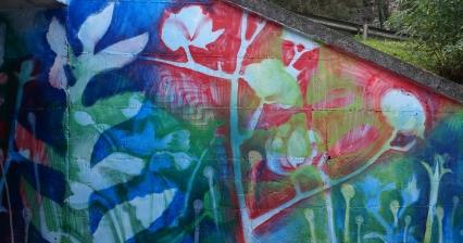 detalle mural - vergara - pesk - loeschbor - pais vasko - cianotipias - nomada