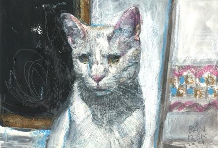 gato - pintura - detalle - loeschbor - mixed media - acrilico pesk - m (3)